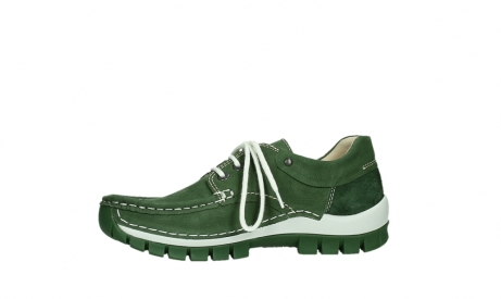 wolky lace up shoes 04701 fly 11720 moss green nubuck_12