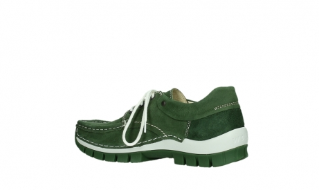 wolky lace up shoes 04701 fly 11720 moss green nubuck_15