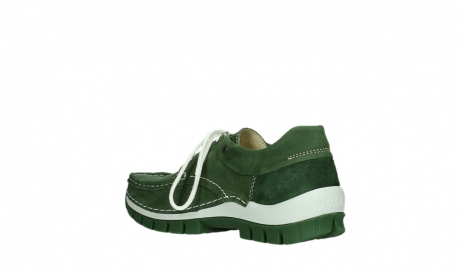 wolky lace up shoes 04701 fly 11720 moss green nubuck_16