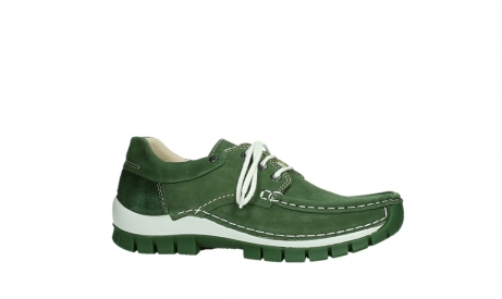 wolky lace up shoes 04701 fly 11720 moss green nubuck_2