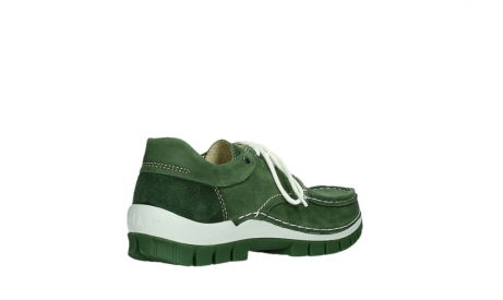 wolky lace up shoes 04701 fly 11720 moss green nubuck_22