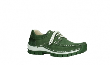 wolky lace up shoes 04701 fly 11720 moss green nubuck_3