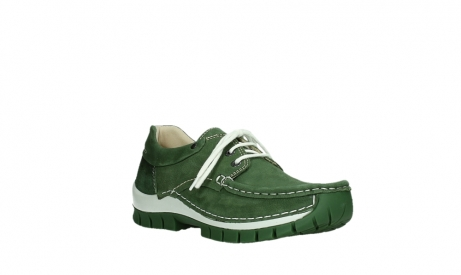 wolky lace up shoes 04701 fly 11720 moss green nubuck_4