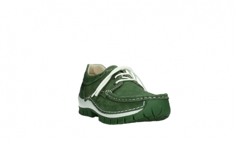 wolky lace up shoes 04701 fly 11720 moss green nubuck_5