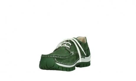 wolky lace up shoes 04701 fly 11720 moss green nubuck_9