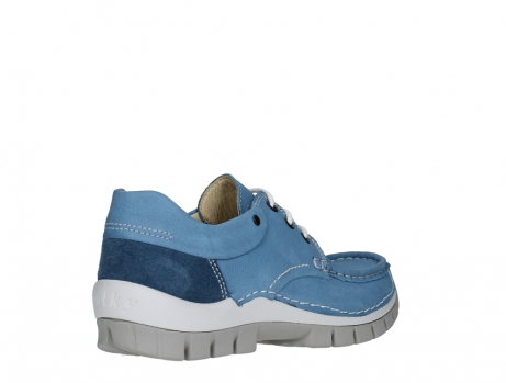 wolky lace up shoes 04701 fly 11856 baltic blue nubuck_22