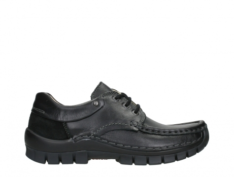 wolky chaussures a lacets 04701 fly 20080 cuir noir_1