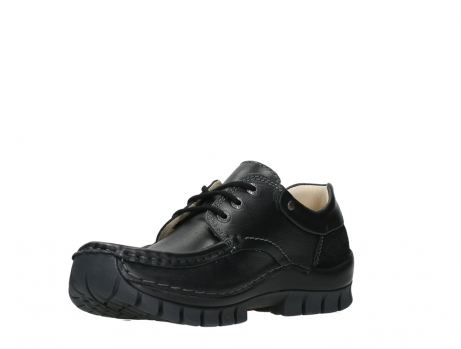 wolky chaussures a lacets 04701 fly 20080 cuir noir_10