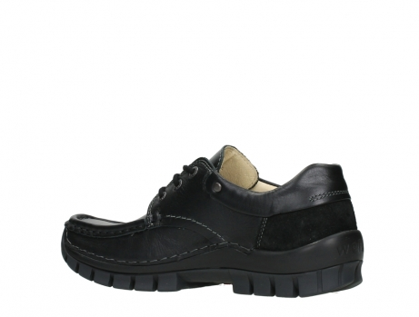 wolky chaussures a lacets 04701 fly 20080 cuir noir_15