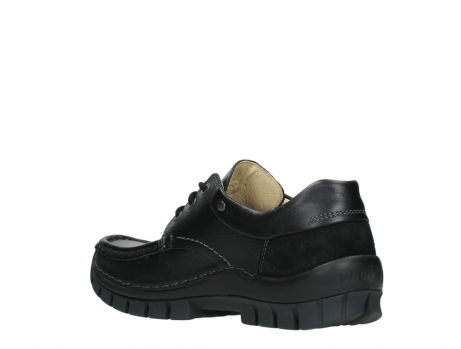 wolky chaussures a lacets 04701 fly 20080 cuir noir_16