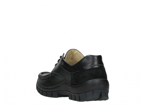 wolky chaussures a lacets 04701 fly 20080 cuir noir_17