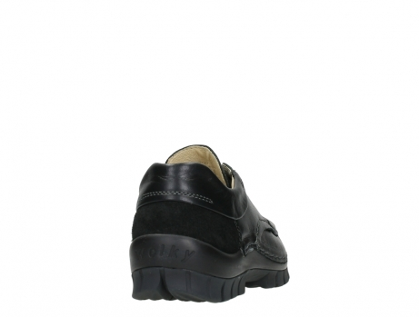 wolky chaussures a lacets 04701 fly 20080 cuir noir_20