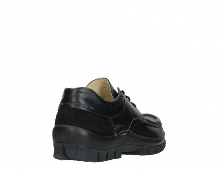 wolky chaussures a lacets 04701 fly 20080 cuir noir_21