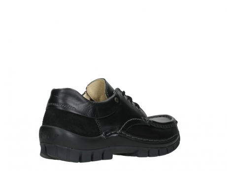 wolky chaussures a lacets 04701 fly 20080 cuir noir_22