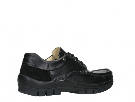 wolky chaussures a lacets 04701 fly 20080 cuir noir_23