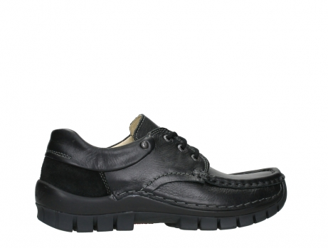 wolky chaussures a lacets 04701 fly 20080 cuir noir_24