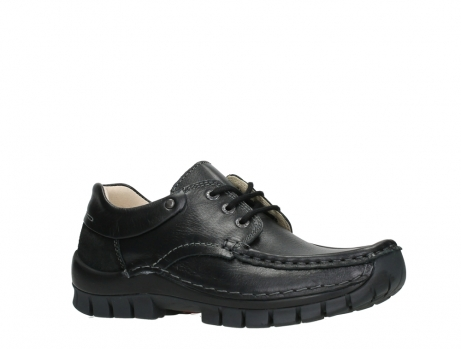 wolky chaussures a lacets 04701 fly 20080 cuir noir_3
