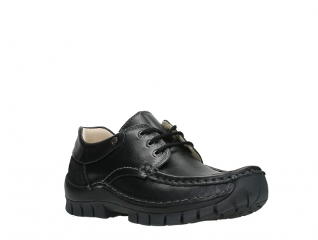 wolky chaussures a lacets 04701 fly 20080 cuir noir_4
