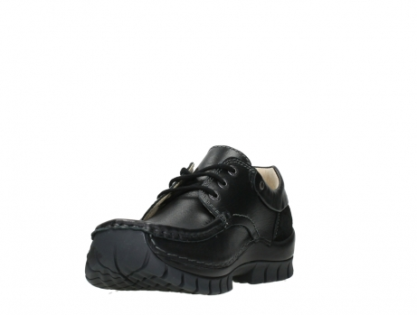 wolky chaussures a lacets 04701 fly 20080 cuir noir_9
