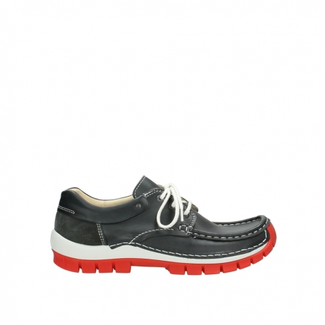wolky lace up shoes 04701 fly 20210 anthracite leather