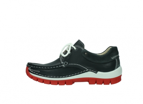 wolky veterschoenen 04701 fly 20210 antraciet leer_1