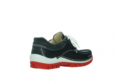 wolky veterschoenen 04701 fly 20210 antraciet leer_10