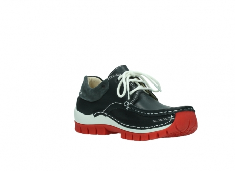 wolky veterschoenen 04701 fly 20210 antraciet leer_16