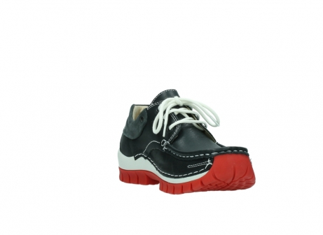 wolky lace up shoes 04701 fly 20210 anthracite leather_17
