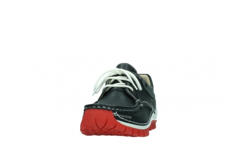 wolky lace up shoes 04701 fly 20210 anthracite leather_20