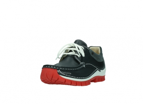 wolky lace up shoes 04701 fly 20210 anthracite leather_21