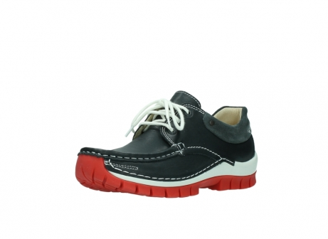 wolky lace up shoes 04701 fly 20210 anthracite leather_22