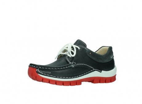 wolky lace up shoes 04701 fly 20210 anthracite leather_23