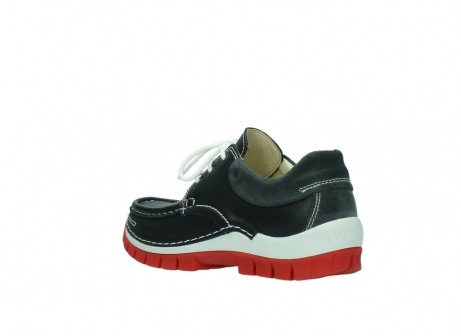 wolky lace up shoes 04701 fly 20210 anthracite leather_4