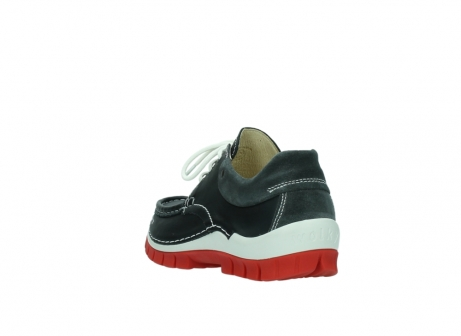 wolky lace up shoes 04701 fly 20210 anthracite leather_5