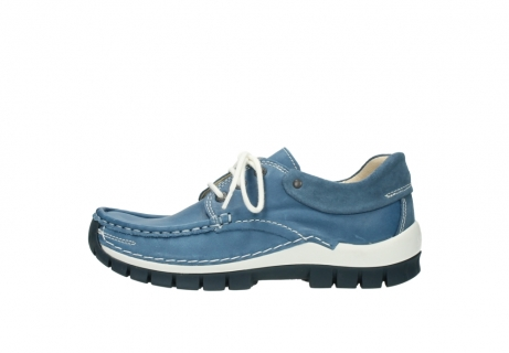 wolky chaussures a lacets 04701 fly 20890 cuir bleu_1