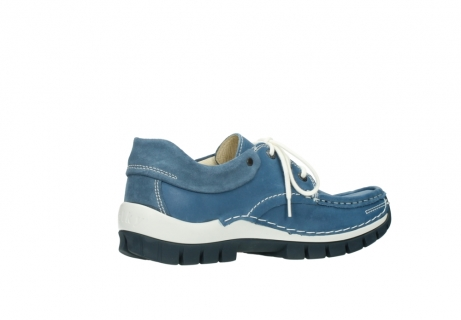 wolky chaussures a lacets 04701 fly 20890 cuir bleu_11