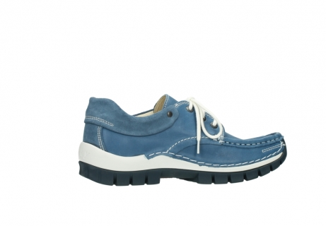 wolky chaussures a lacets 04701 fly 20890 cuir bleu_12