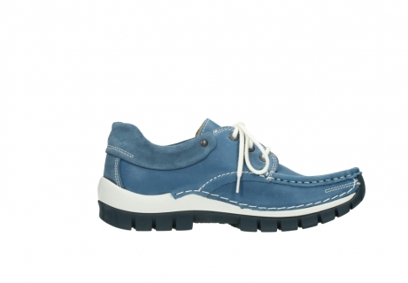 wolky chaussures a lacets 04701 fly 20890 cuir bleu_13