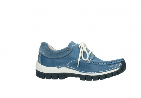 wolky chaussures a lacets 04701 fly 20890 cuir bleu_14