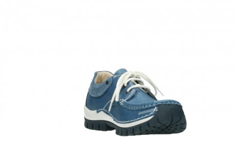 wolky chaussures a lacets 04701 fly 20890 cuir bleu_17