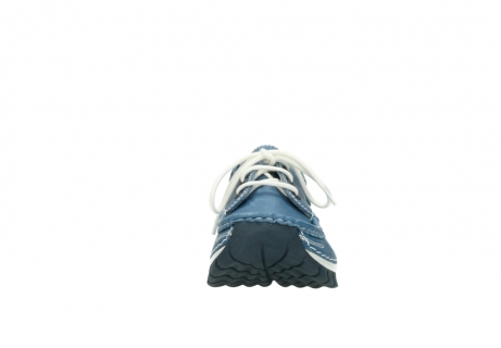 wolky chaussures a lacets 04701 fly 20890 cuir bleu_19