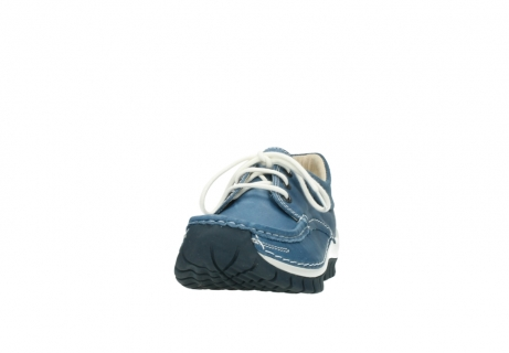 wolky chaussures a lacets 04701 fly 20890 cuir bleu_20