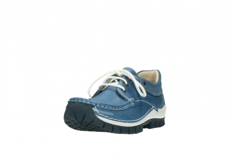 wolky chaussures a lacets 04701 fly 20890 cuir bleu_21