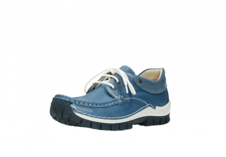 wolky chaussures a lacets 04701 fly 20890 cuir bleu_22