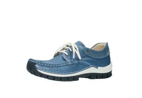 wolky chaussures a lacets 04701 fly 20890 cuir bleu_23