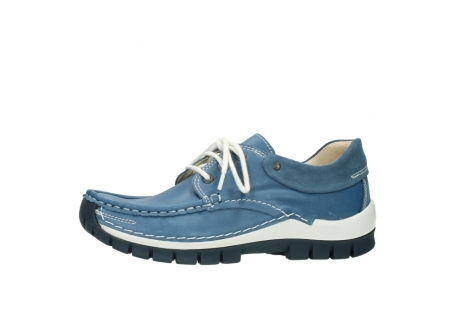 wolky chaussures a lacets 04701 fly 20890 cuir bleu_24