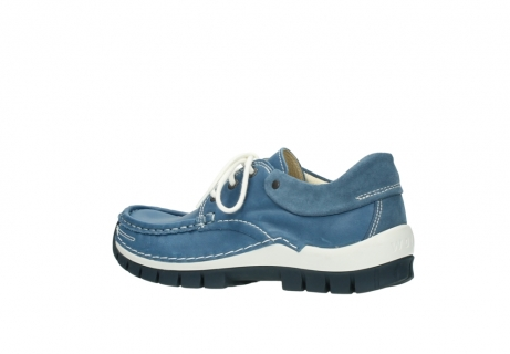 wolky chaussures a lacets 04701 fly 20890 cuir bleu_3