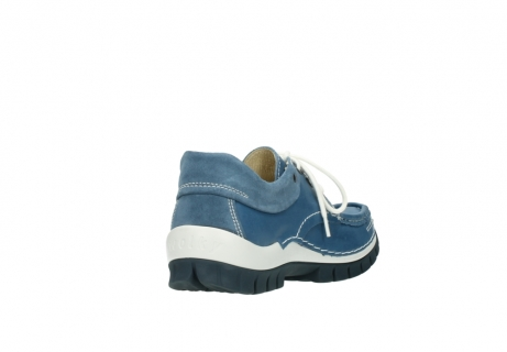 wolky lace up shoes 04701 fly 20890 vintage bleu leather_9