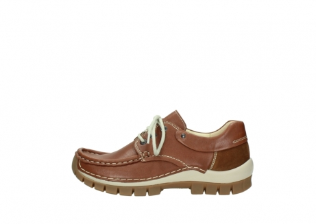 wolky chaussures a lacets 04701 fly 70430 cuir cognac_1