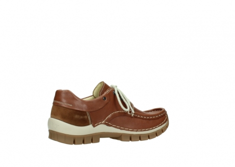 wolky chaussures a lacets 04701 fly 70430 cuir cognac_11